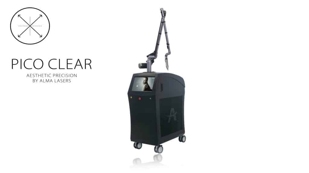 Pico clear laser tattoo removal machine