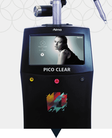 Pico Clear | Colored Tattoos Removal | Pigmented Lesions