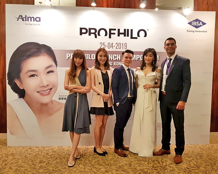 Hyaluronic acid - profhilo launch in Hong Kong