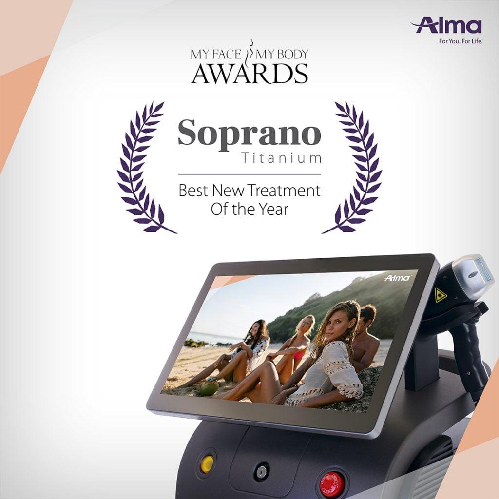 Soprano Titanium| The winner at the Aesthetic awards